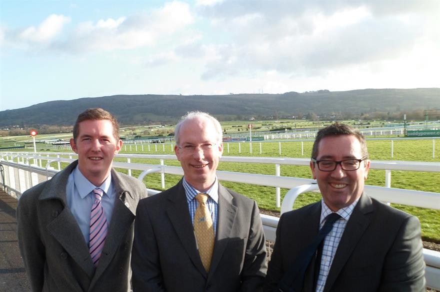 (L-R) Moulson, Renton and Foxton-Duffy join Cheltenham