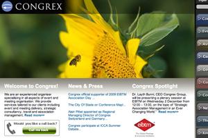 Congrex has been named as an official supporter of the 2009 EIBTM Association Day Programme