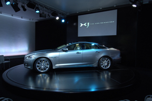 Jaguar and Imagination team up for XJ launch