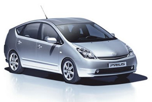 Toyota Prius Hybrid: on show at the Greener Company Car In Action event