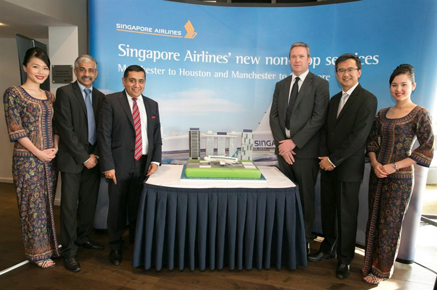 Singapore Airlines launches new routes
