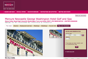 Mercure Newcastle George Washington Hotel Golf and Spa completes refurbishment