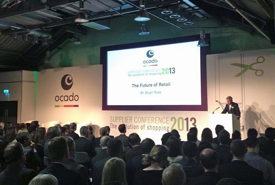 Ocado Conference 2013 at the Business Design Centre