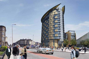 Proposed Intercontintal Hotel, Harmaket, Edinburgh
