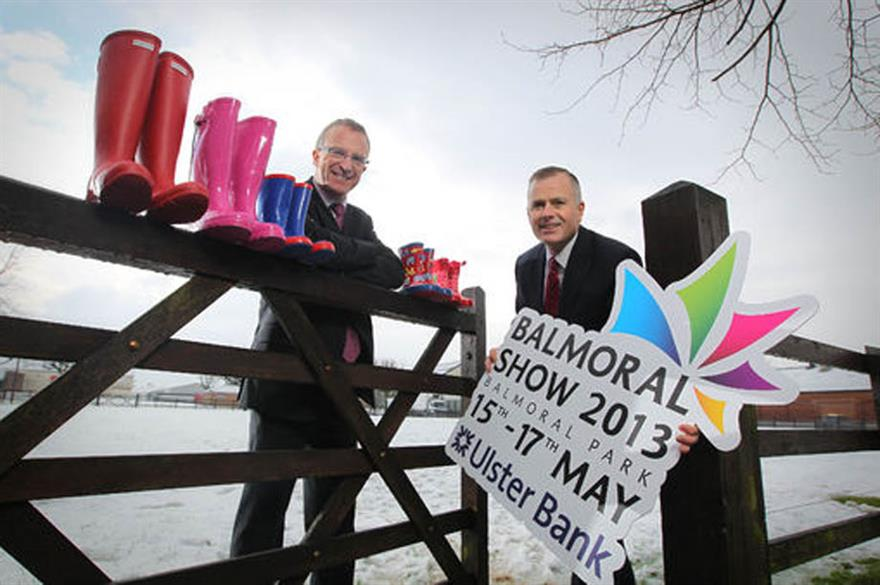 The Balmoral Show 2013 will take place at the former site of Belfast's Maze prison (Copyright: Ulsterbusiness.com)