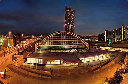 Manchester Central is located in the heart of the city
