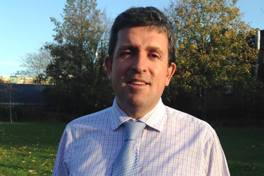 Chief executive of AOK Events, Alex Hewitt