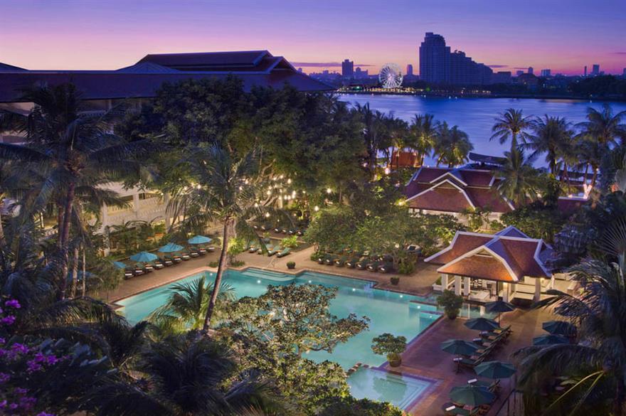 Anantara Bangkok Riverside hotel, Thailand