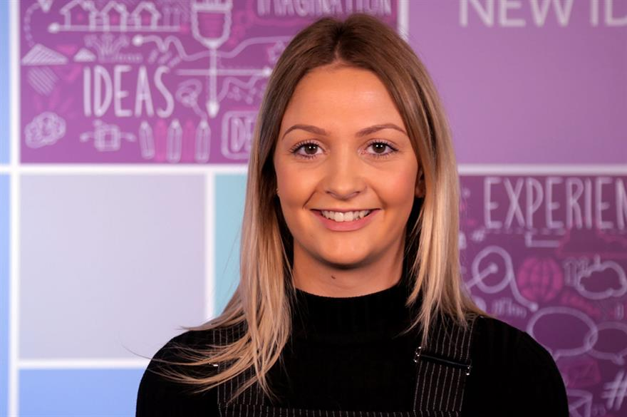 Anna Kislingbury is one of four new team members at Corporate Events