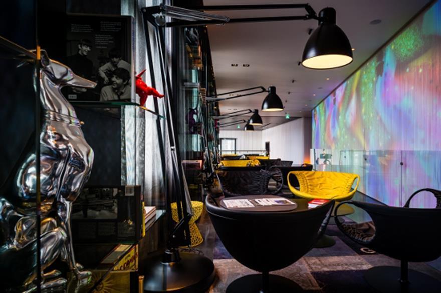 Art'otel Amsterdam features art from Atelier Van Lieshout