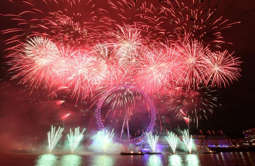 Jack Morton Worldwide will produce the 2012 New Year's Eve fireworks