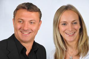 Fresh's Nick Porter and Julie Besbrode