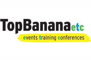 Top Banana Training and Top Banana Events and Conferences rebrand