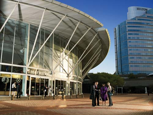 ICC Durban offers plenary seating for 12,300 delegates