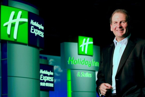 IHG chief executive Andrew Cosslett steps down