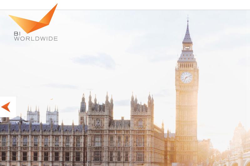 BI Worldwide's homepage