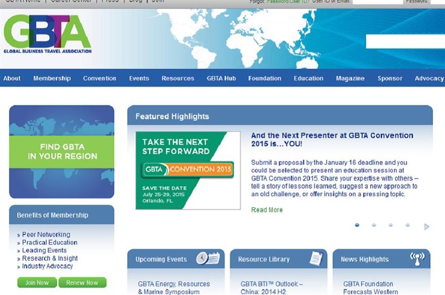 GBTA site