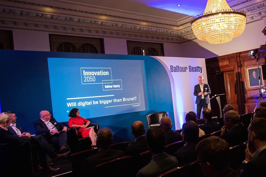 Balfour Beatty's Innovation 2050 launch