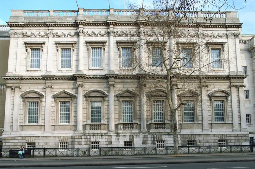 Banqueting House is hosting Lighthouse Group's awards dinner