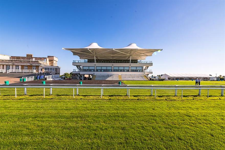 Bath Racecourse's new Langridge Stand