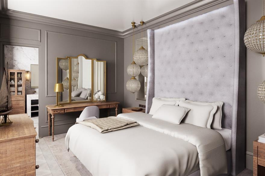 Room at Lympstone Manor