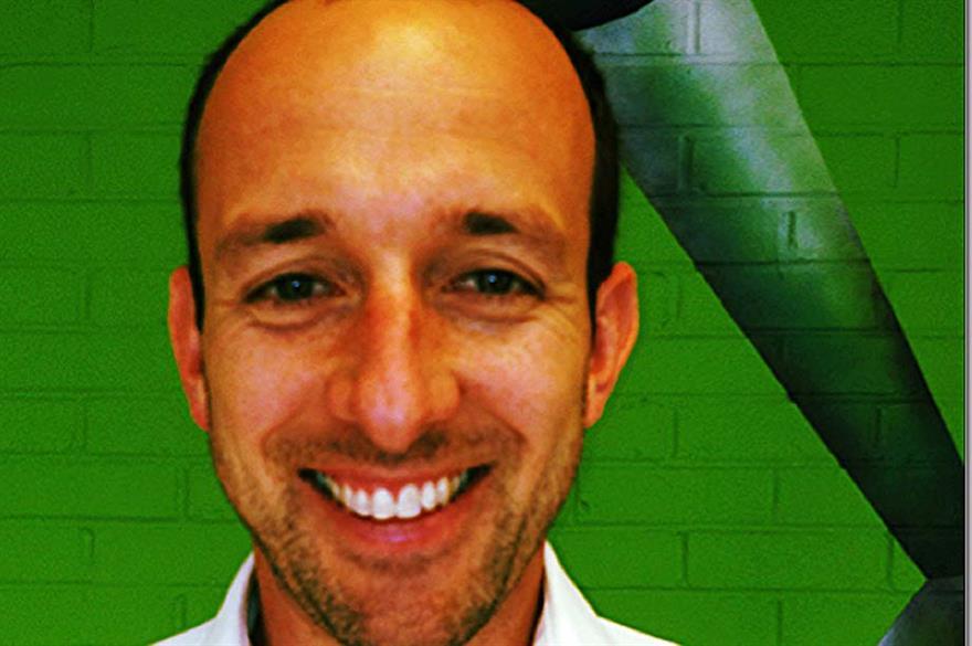 Bluehat's commercial director Ben Parkinson