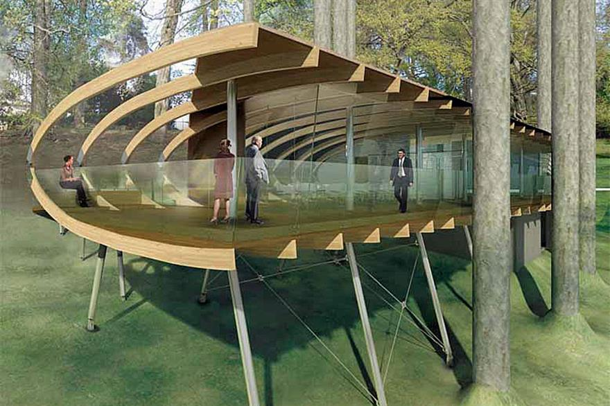 Treehouse 'hangar' planned for Leeds