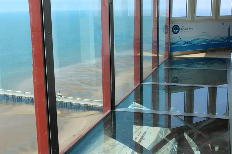 Blackpool Tower Eye, which has opened for events
