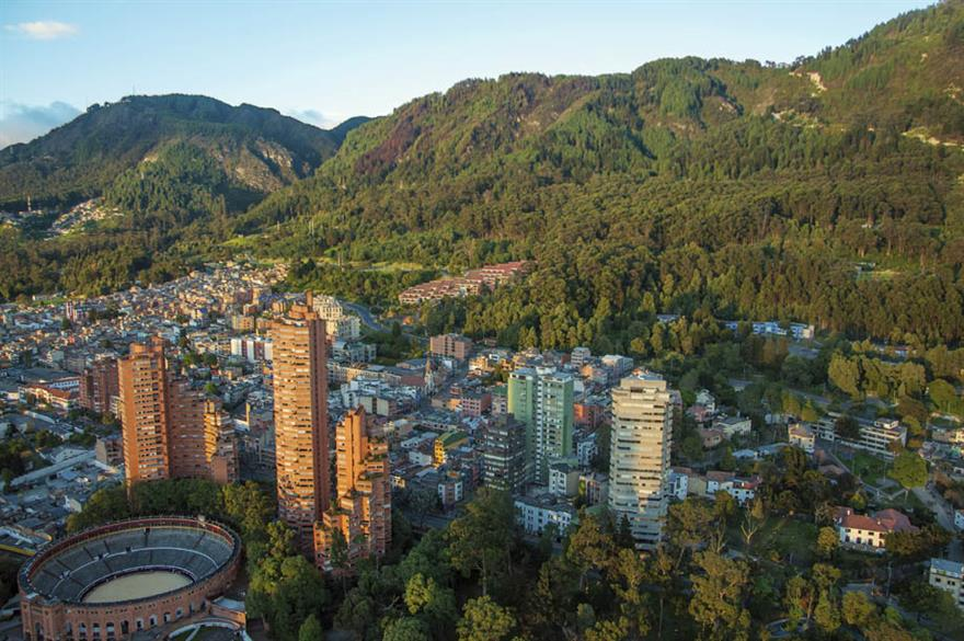 Bogota is more accessible to UK C&I groups thanks to new flight routes