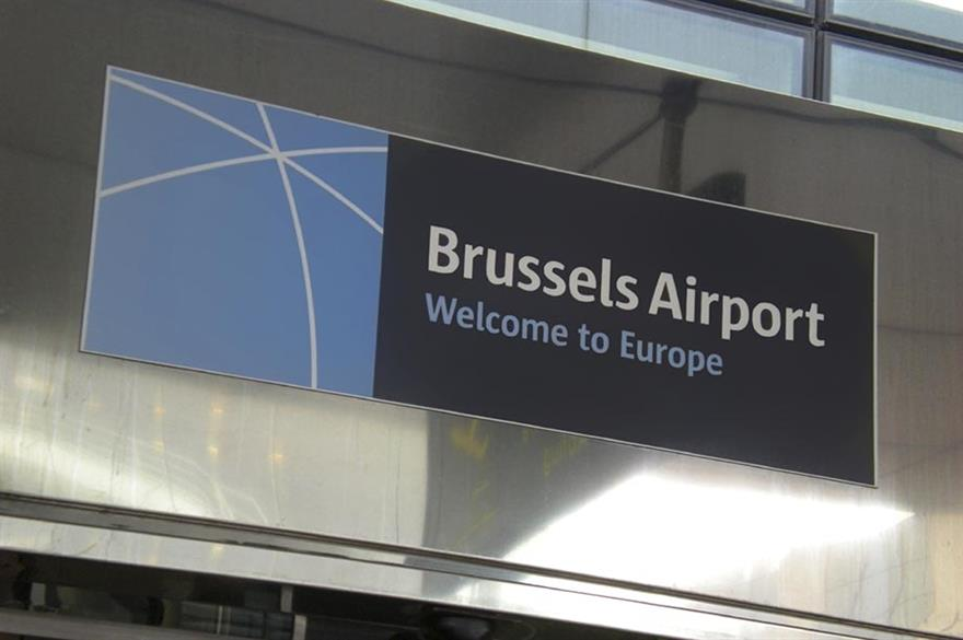 Brussels Airport, scene of one of the attacks
