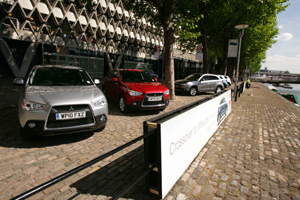 Mitsubishi launches ASX in Bristol