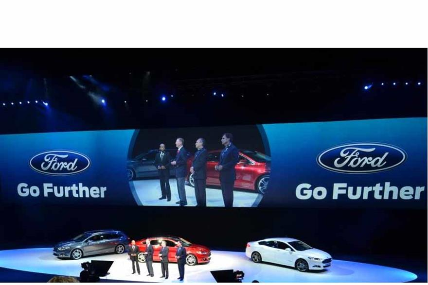 Ford appointed Imagination for its new vehicle launch