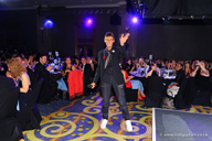 X Factor's Johnny Robinson performed at the Eventia Awards