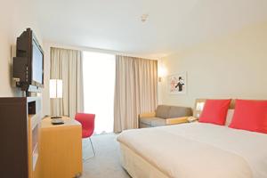 Accor's hotel revenue falls