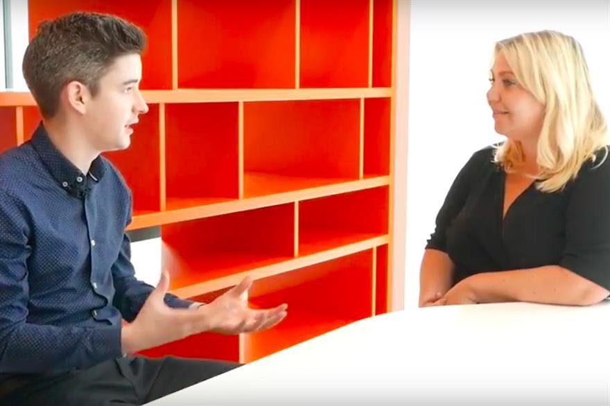 C&IT editor Calum Di Lieto interviews Cision's Victoria Morrison