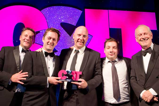 Smyle cleans up at C&IT Awards