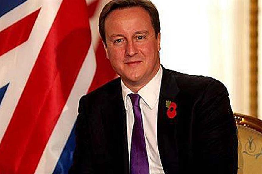 Prime Minister David Cameron backs 'Britain for Events' campaign