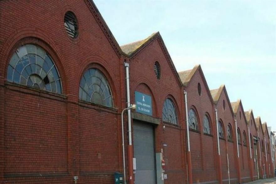 Regeneration plans for city depot