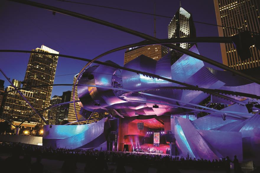 Pritzker Pavilion, Chicago, US