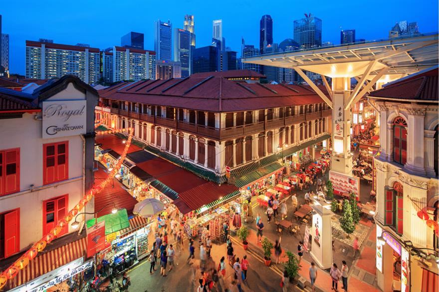 Chinatown Food Street (credit: Darren Soh)