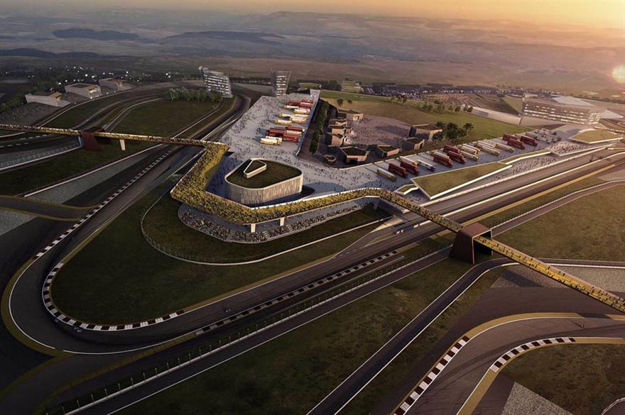 Circuit of Wales, artist's impression (circuitofwales.com)