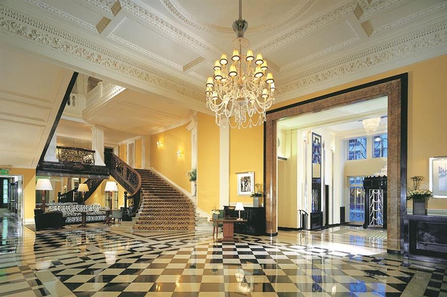 Claridge's hotel, Mayfair, London