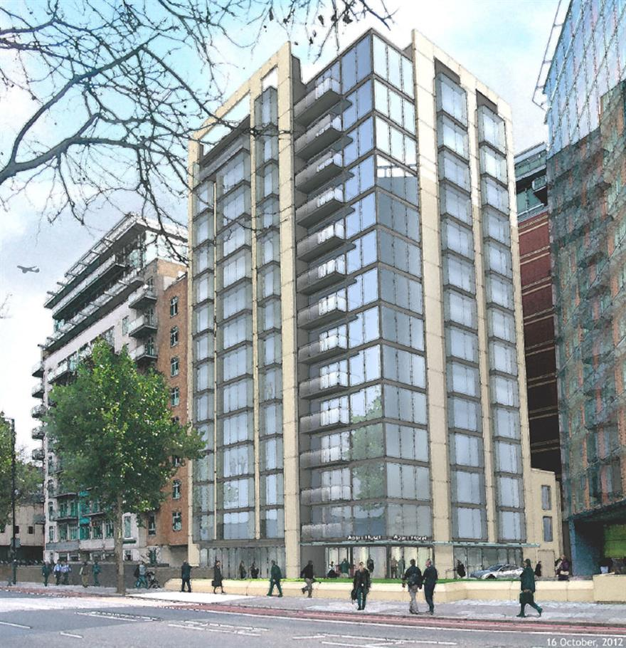 InterContinental Hotels Group signs the Crowne Plaza London