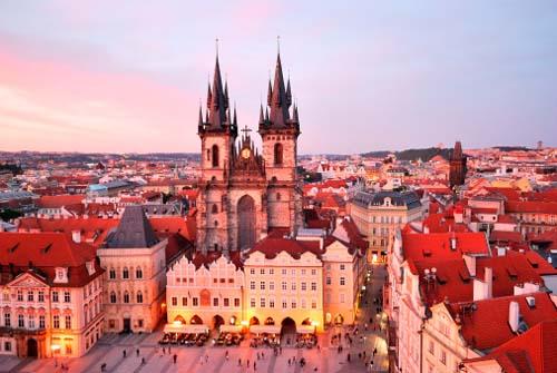 Prague boasts a congress centre that can host 9,300 delegates
