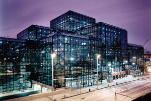 The Javits Center in New York