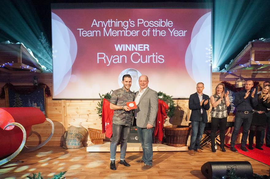 DRP's Ryan Curtis wins team member of the year as agency reports record profits