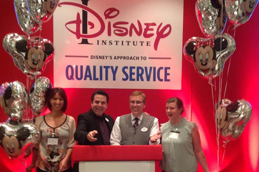 Disney to run London staff training events