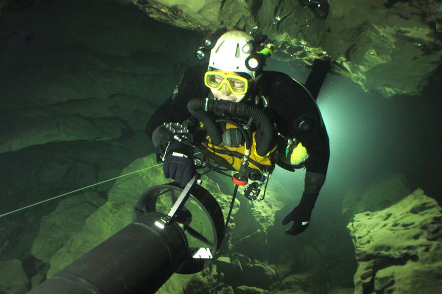 British cave diver John Volanthen