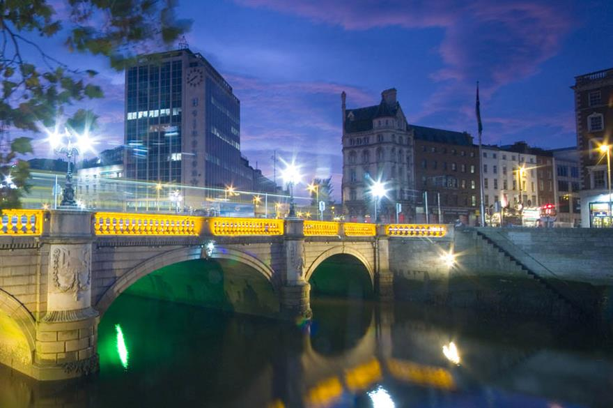 Revenue per room rates for Dublin hotels are set to hit 5.2%