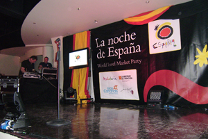 Spain's World Travel Market party at Orchid, Piccadilly